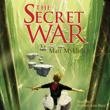 Printable The Secret War: A Jack Blank Adventure Audiobook Cover Art