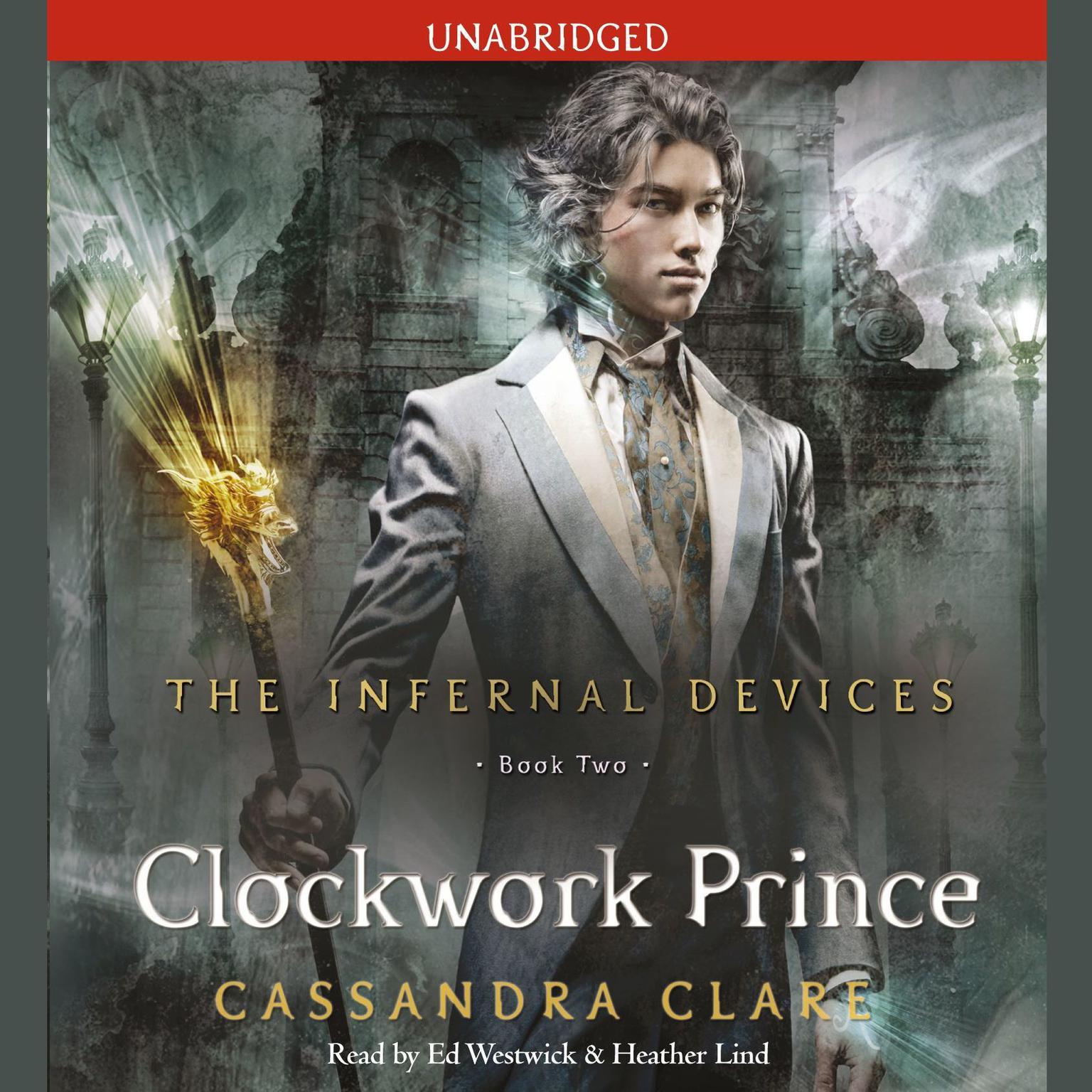 Printable Clockwork Prince Audiobook Cover Art