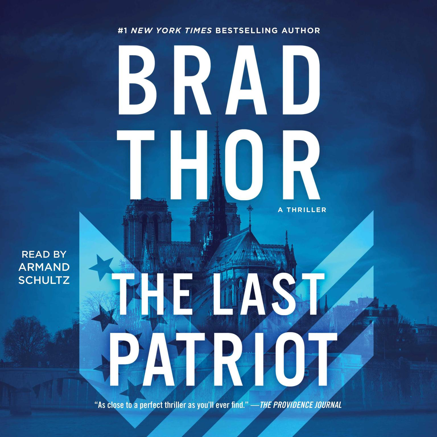 Printable The Last Patriot: A Thriller Audiobook Cover Art