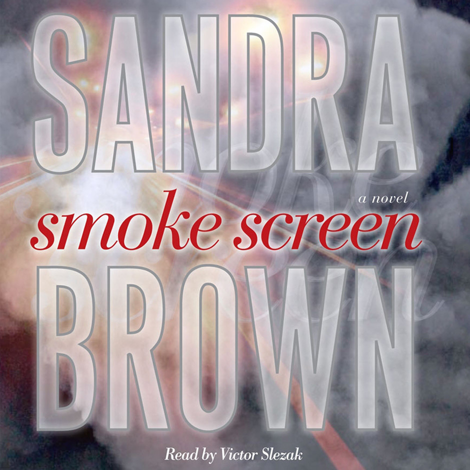 Printable Smoke Screen: A Novel Audiobook Cover Art