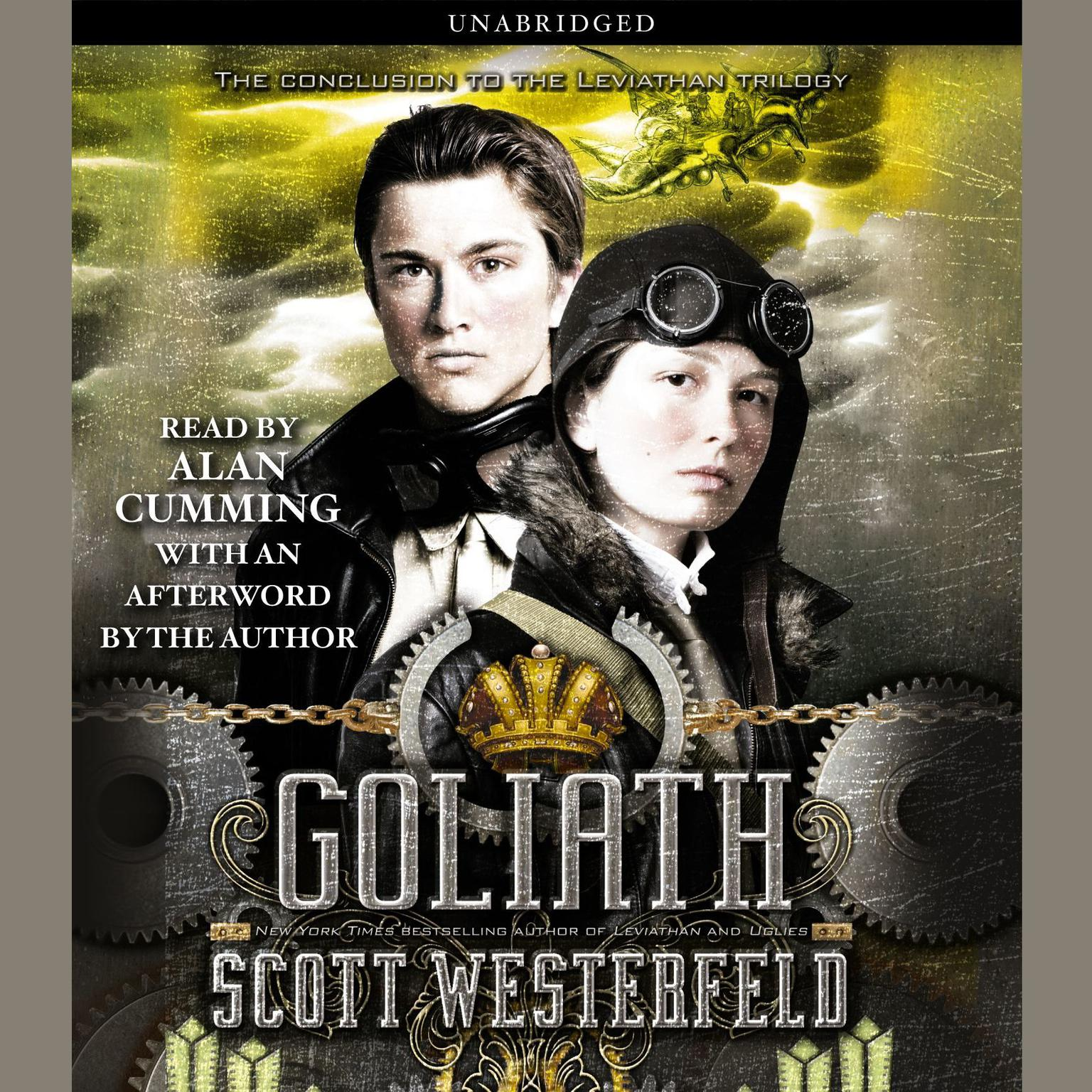 Printable Goliath Audiobook Cover Art