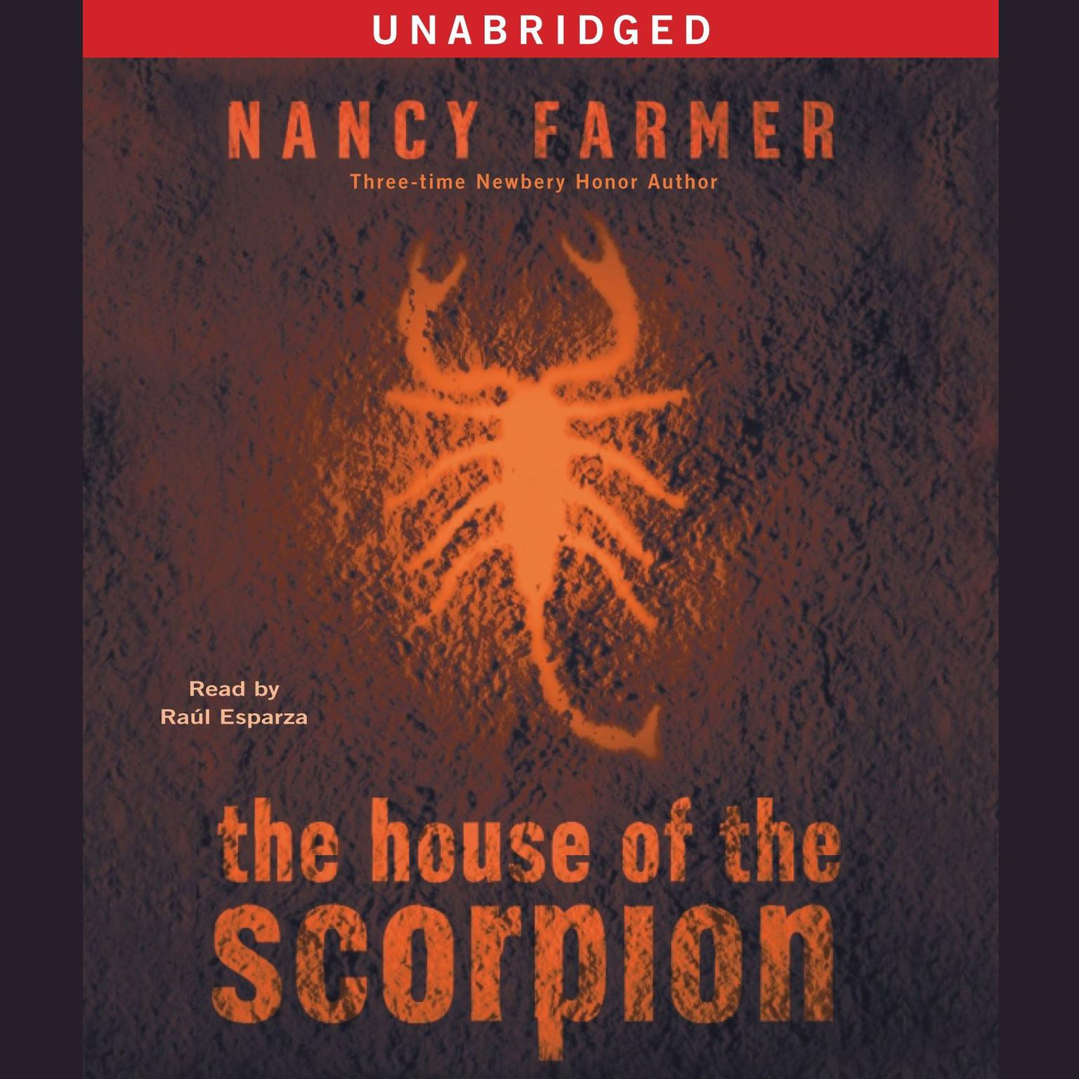 Printable The House of the Scorpion Audiobook Cover Art