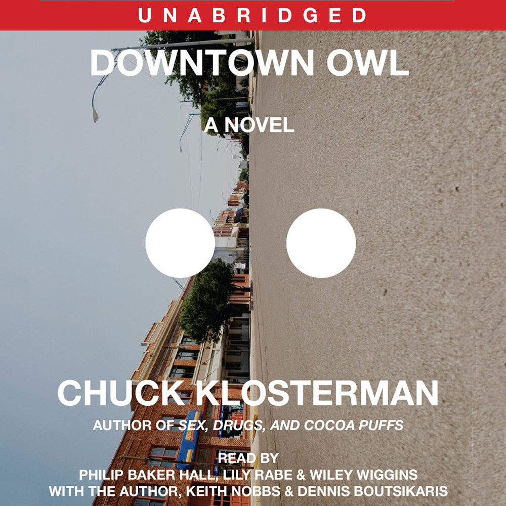 Printable Downtown Owl: A Novel Audiobook Cover Art