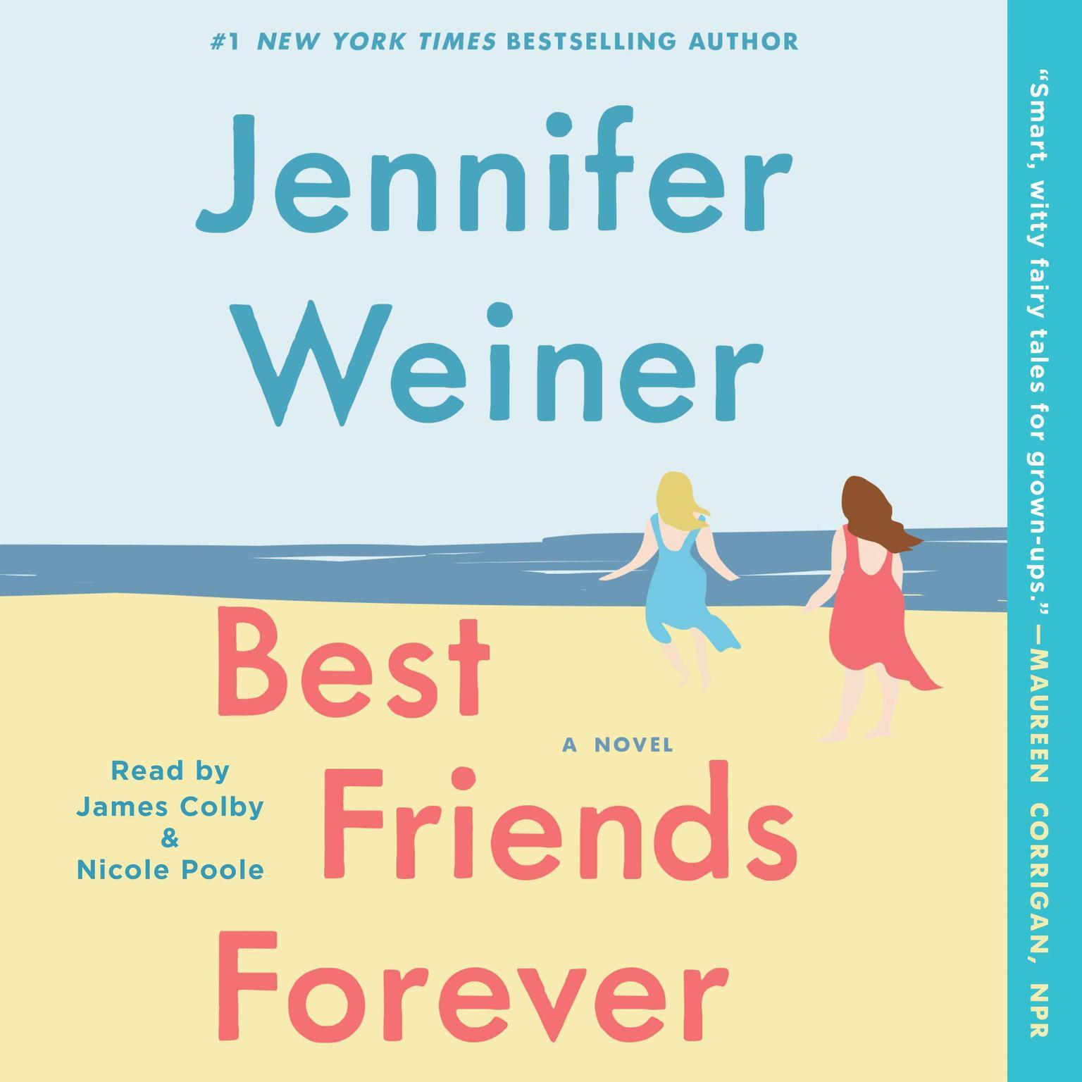 Printable Best Friends Forever: A Novel Audiobook Cover Art