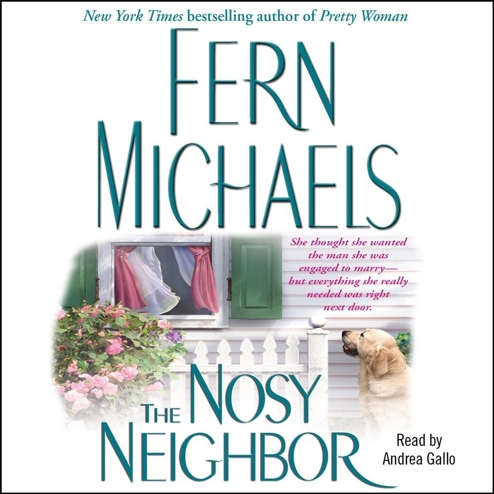 Printable The Nosy Neighbor Audiobook Cover Art