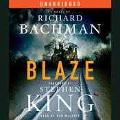 Blaze Audiobook, by Richard Bachman