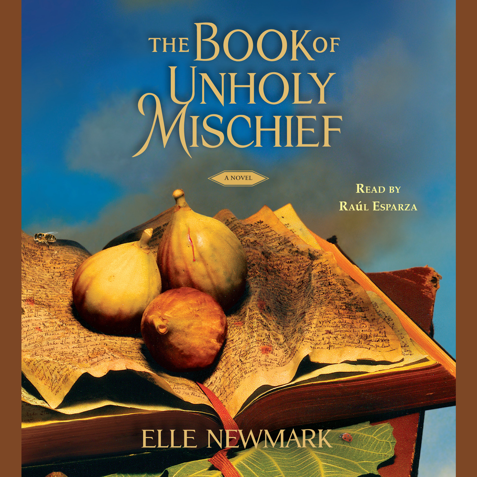 Printable The Book of Unholy Mischief: A Novel Audiobook Cover Art