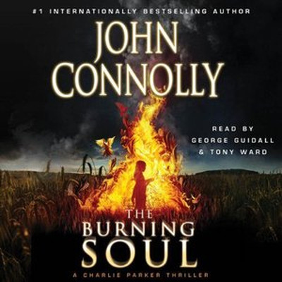 Printable The Burning Soul: A Thriller Audiobook Cover Art