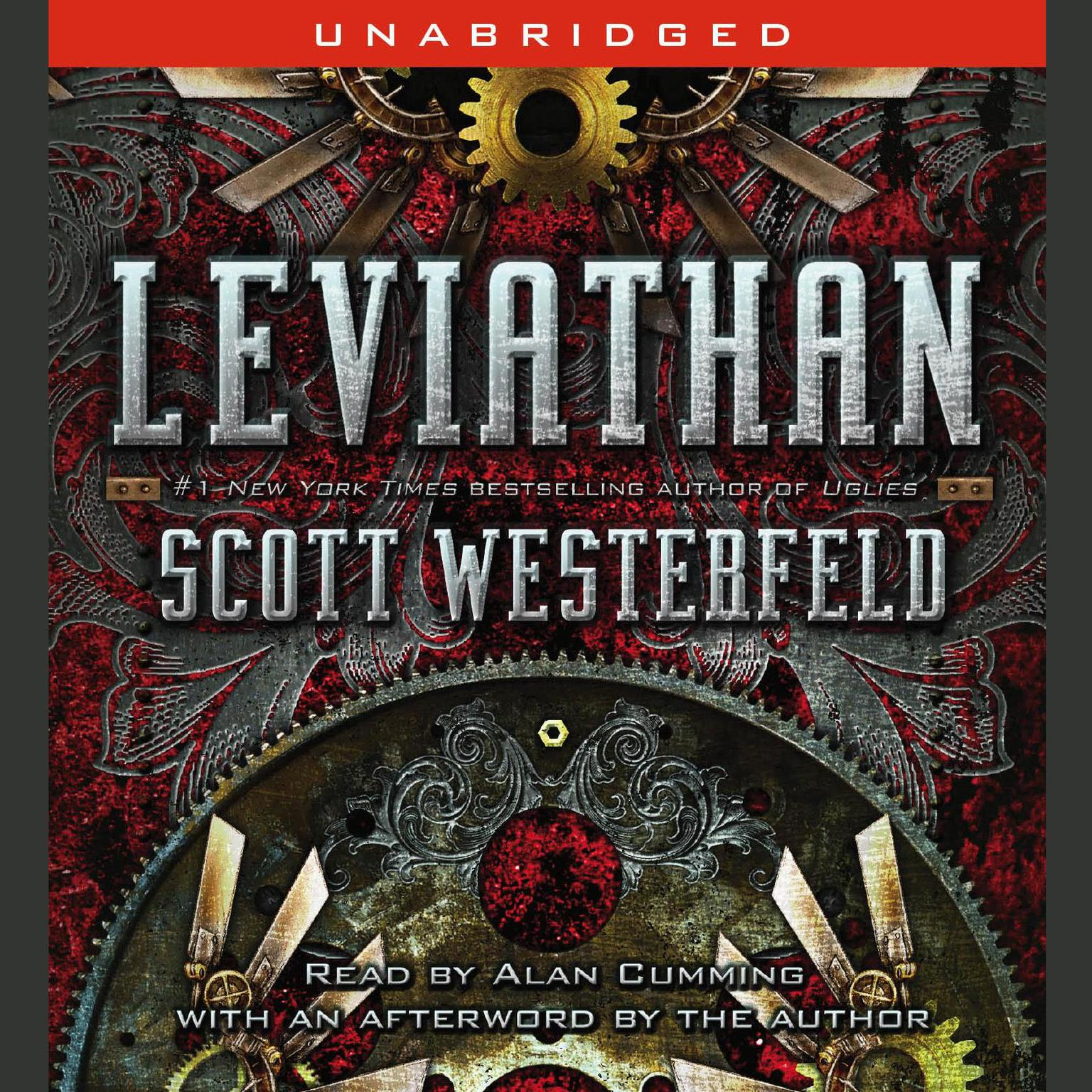 Printable Leviathan Audiobook Cover Art