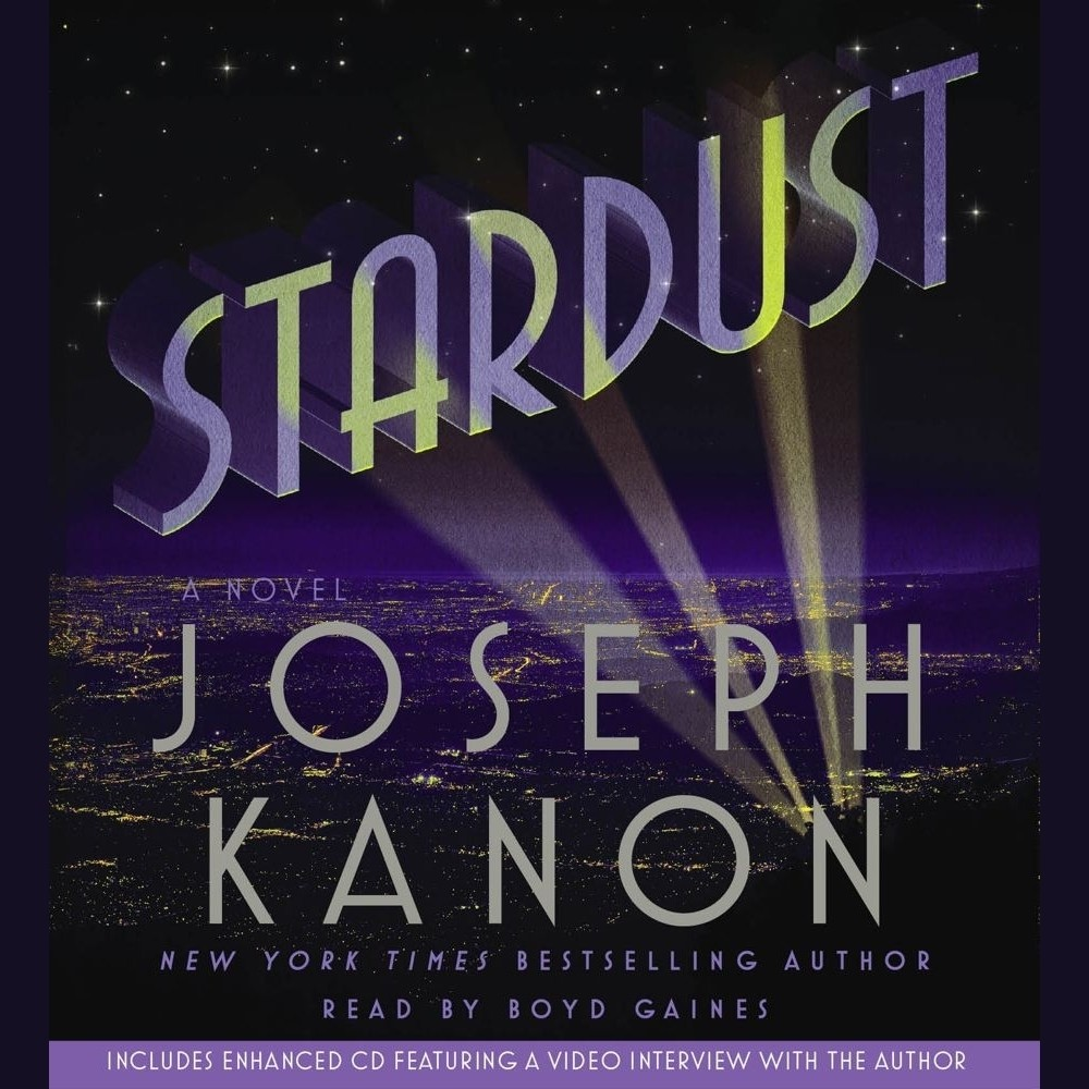 Printable Stardust: A Novel Audiobook Cover Art