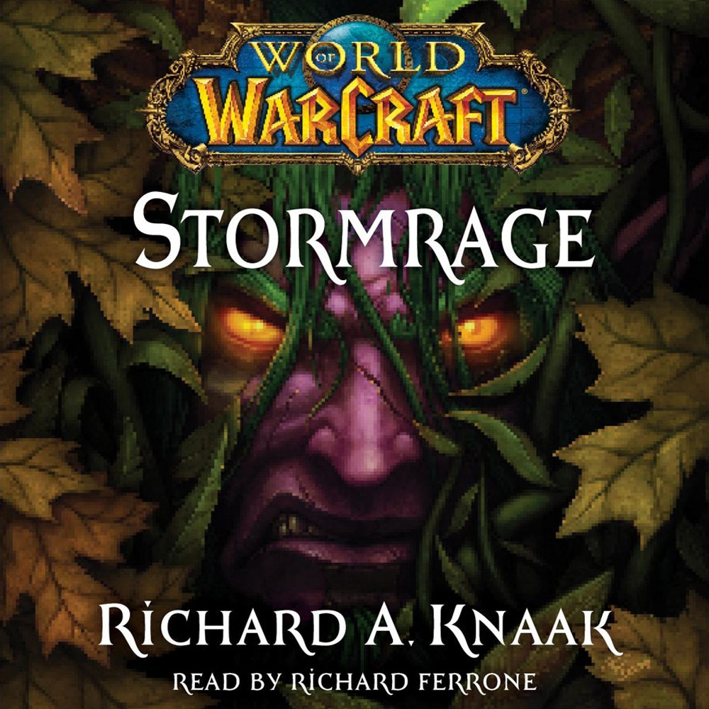 Printable World of Warcraft: Stormrage Audiobook Cover Art