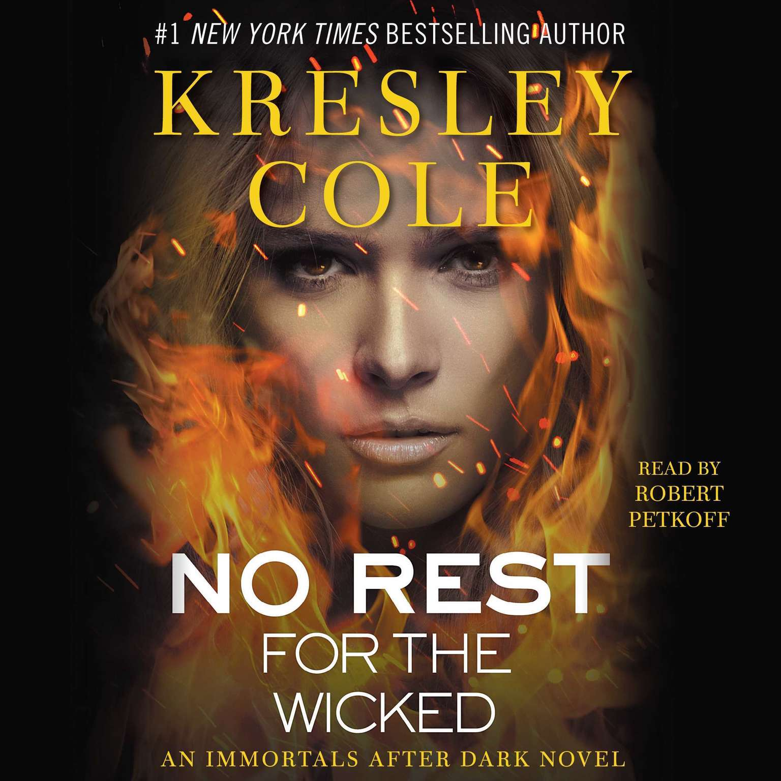 Printable No Rest for the Wicked Audiobook Cover Art