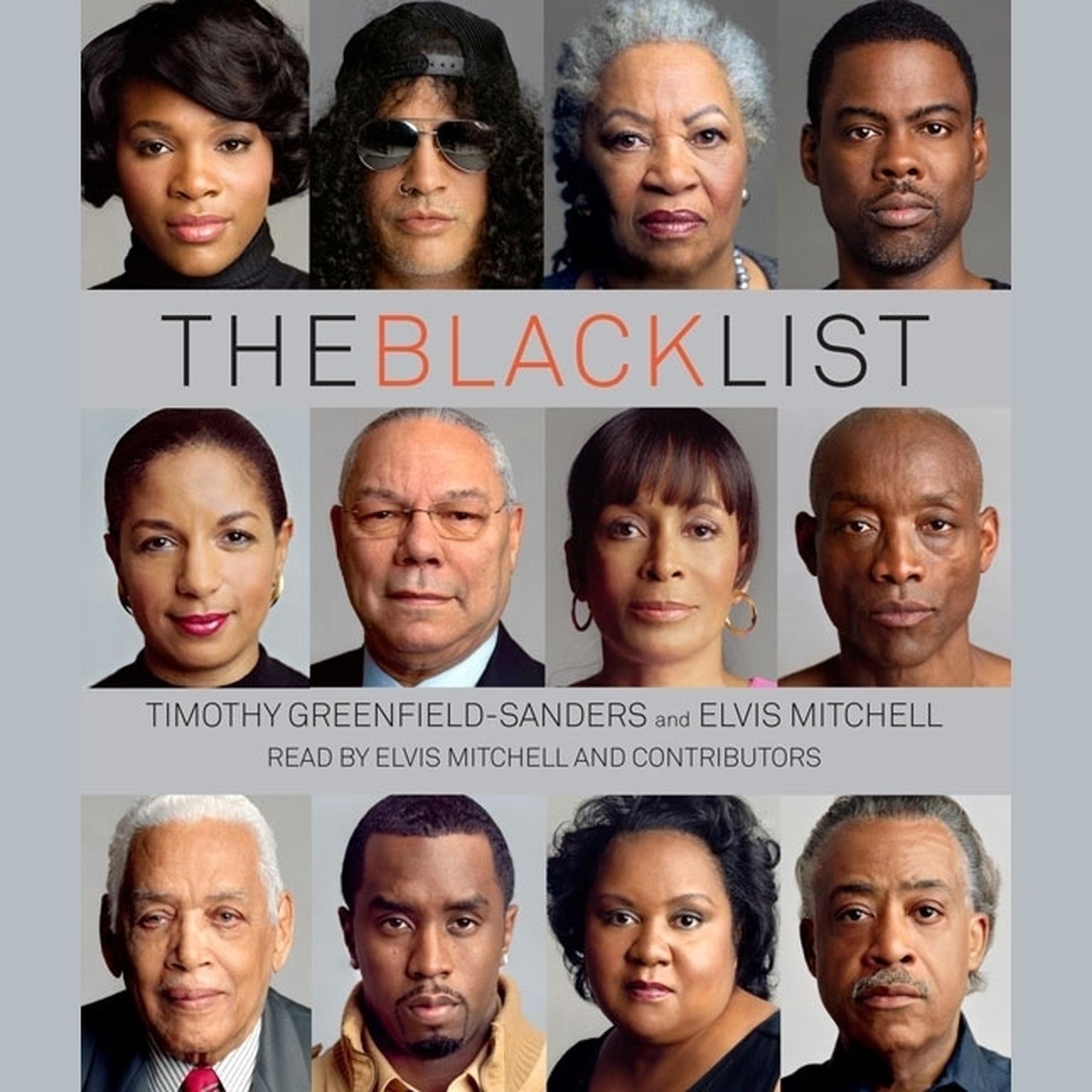 Printable The Black List Audiobook Cover Art
