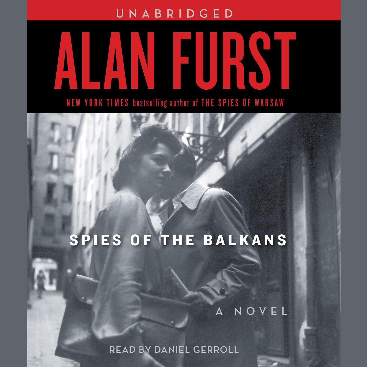 Printable Spies of the Balkans Audiobook Cover Art