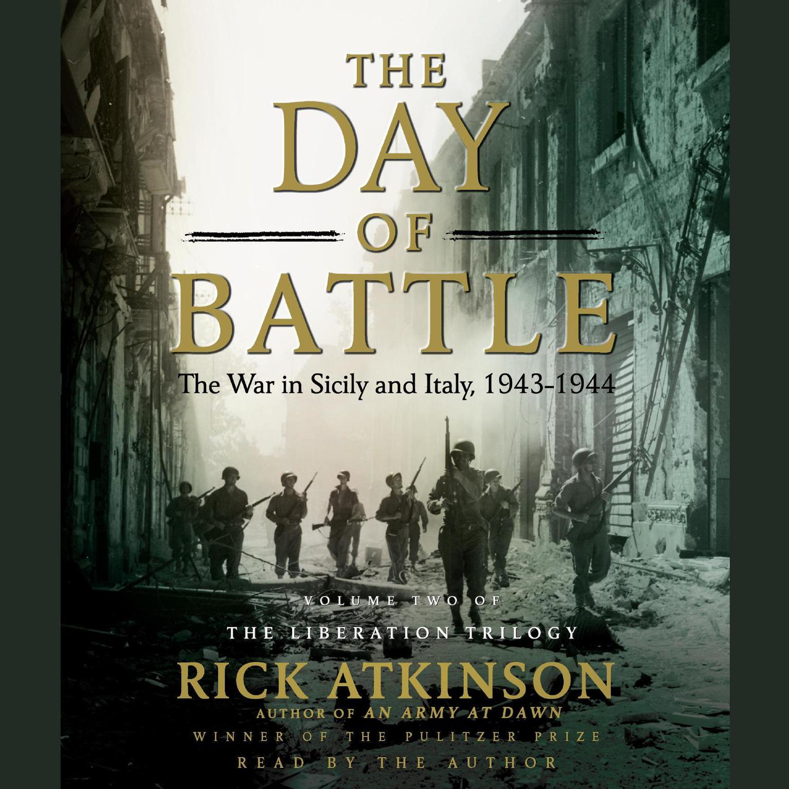 Printable The Day of Battle: The War in Sicily and Italy, 1943-1944 Audiobook Cover Art