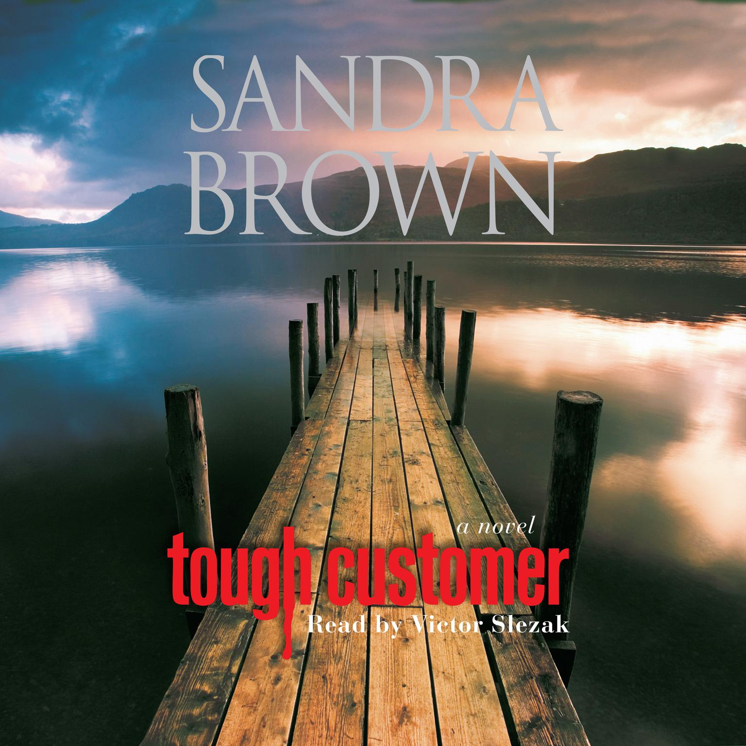 Printable Tough Customer: A Novel Audiobook Cover Art