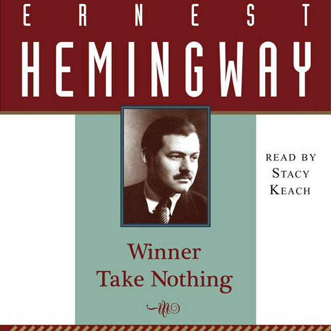 Printable Winner Take Nothing Audiobook Cover Art