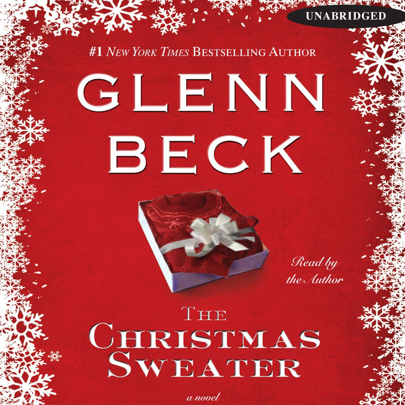 Printable The Christmas Sweater Audiobook Cover Art