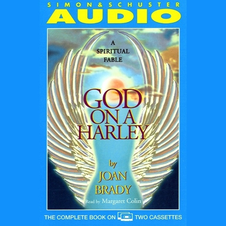 Printable God On A Harley: A Spiritual Fable Audiobook Cover Art