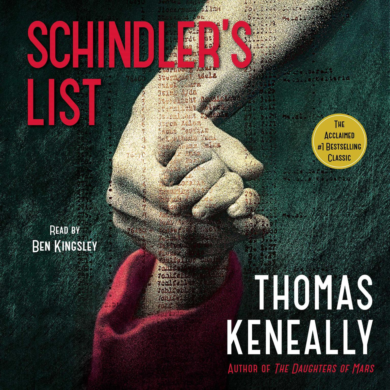 Printable Schindler's List Audiobook Cover Art