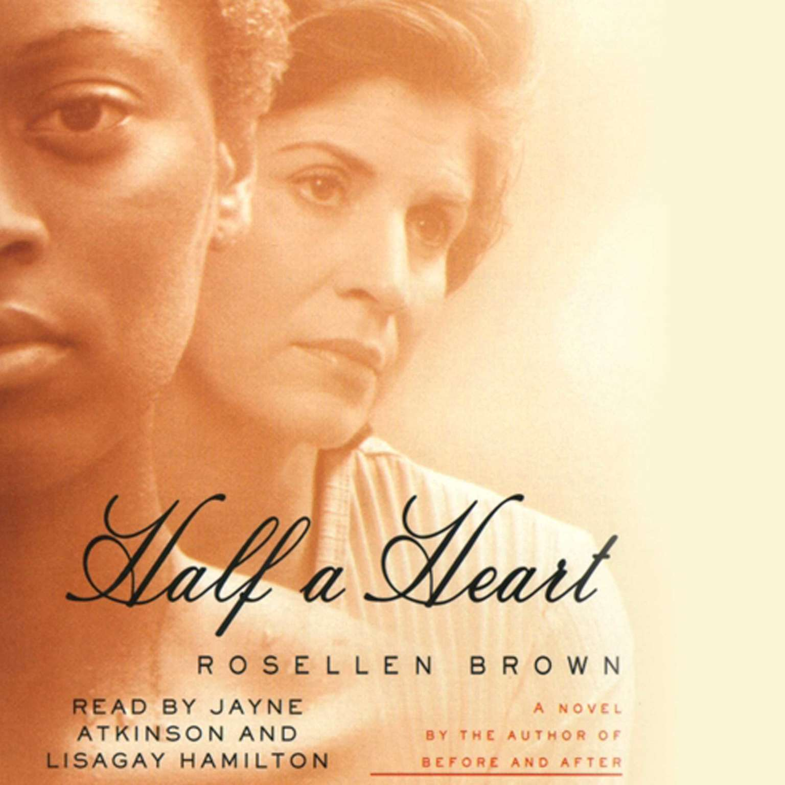 Printable Half A Heart Audiobook Cover Art