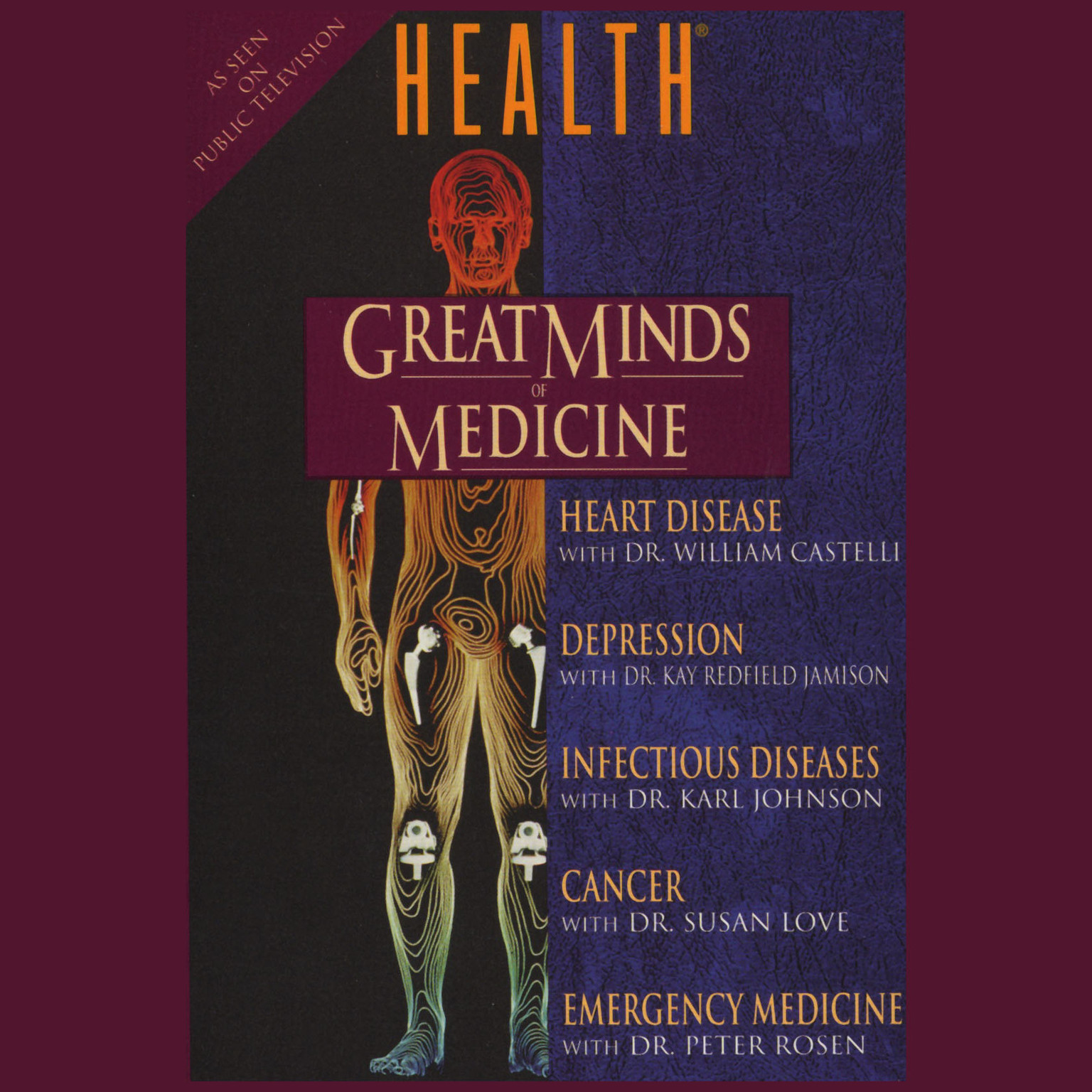 Printable Great Minds of Medicine: with Health Magazine Audiobook Cover Art