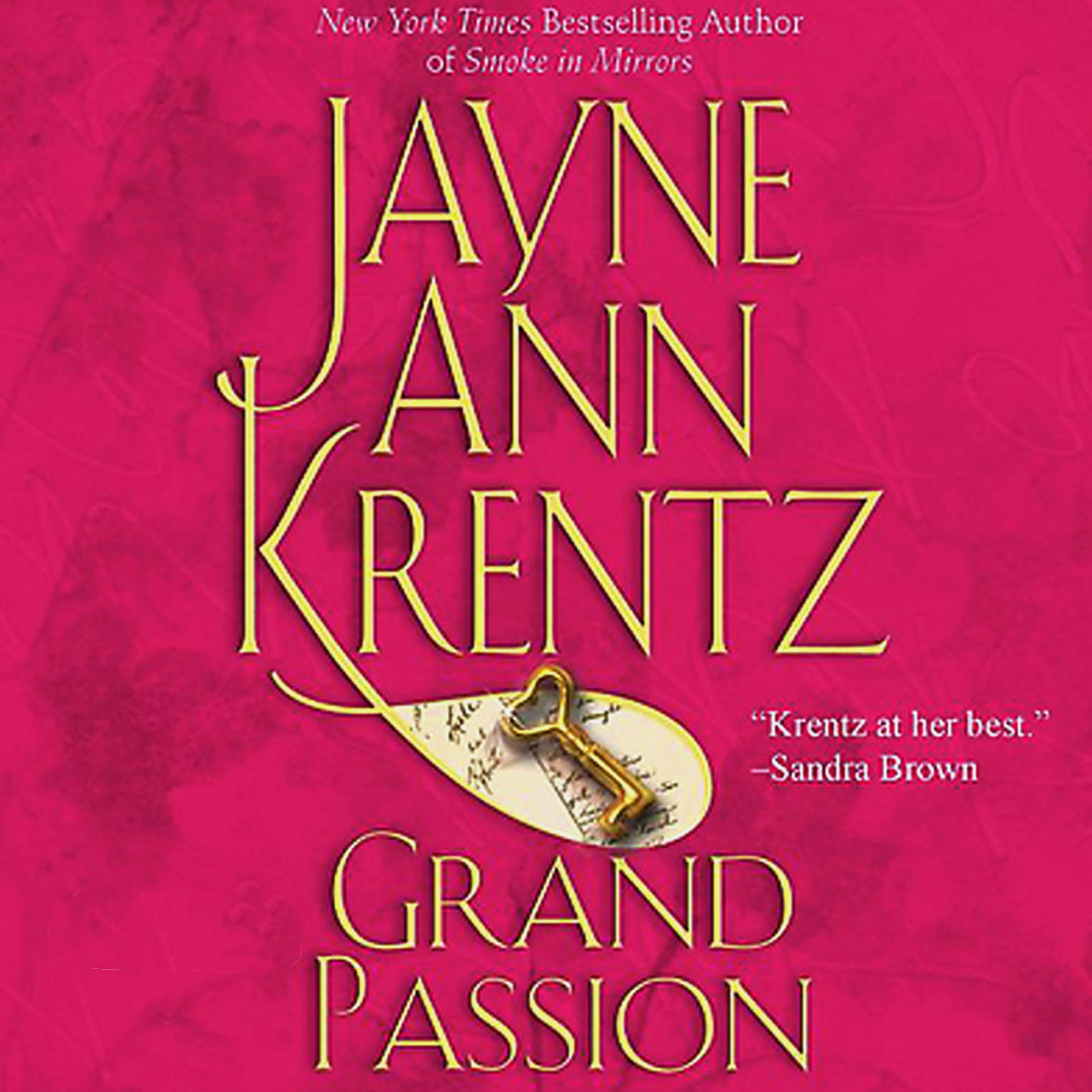 Printable Grand Passion Audiobook Cover Art