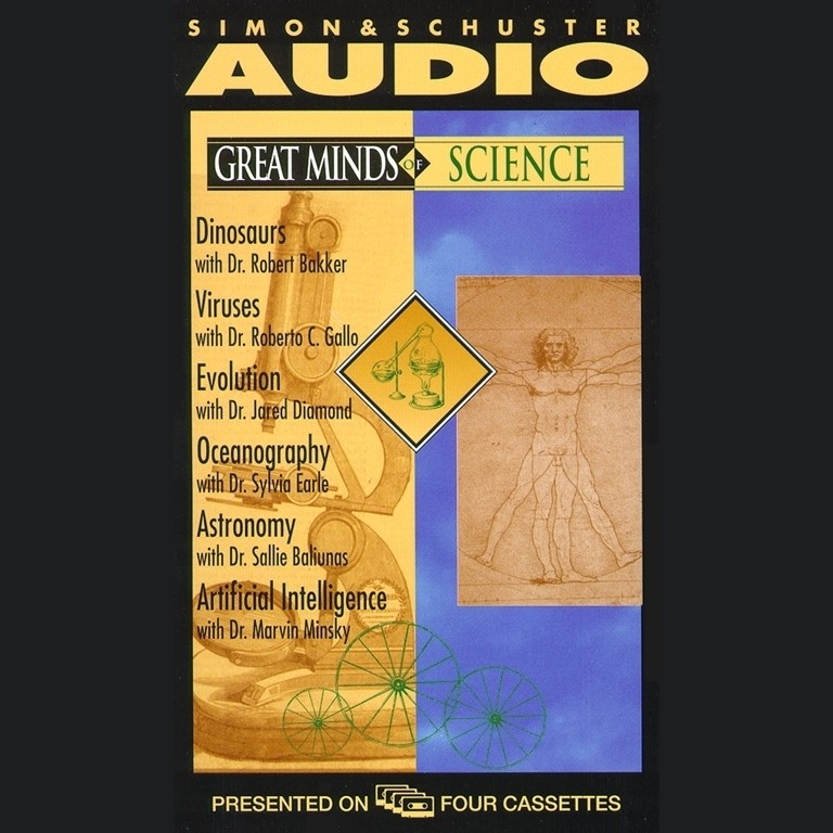 Printable Great Minds of Science: with Discover Magazine Audiobook Cover Art