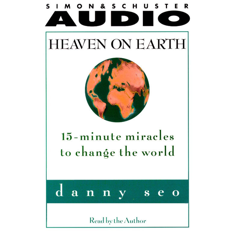Printable Heaven on Earth: 15-Minute Miracles to Change the World Audiobook Cover Art