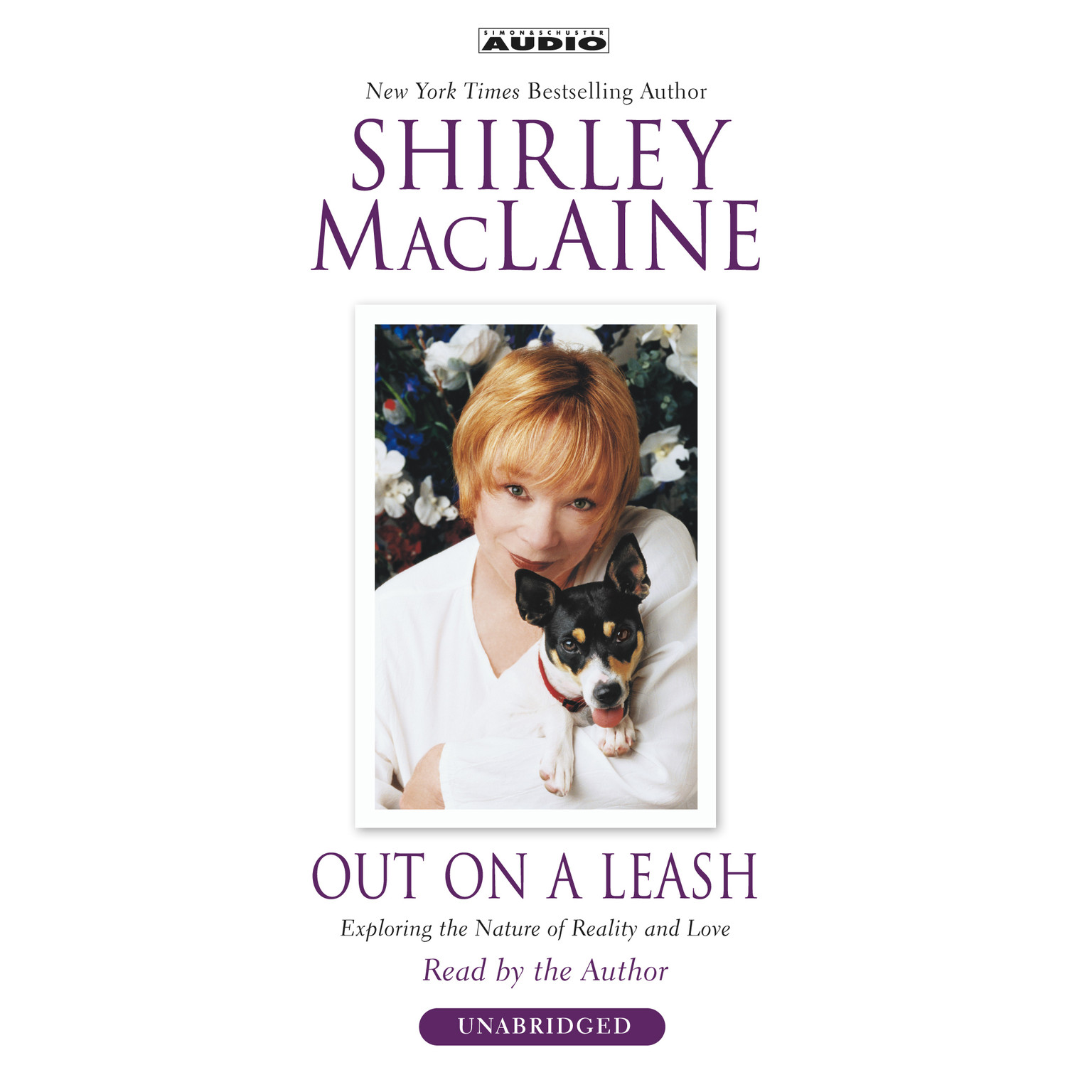 Printable Out on a Leash: Exploring the Nature of Reality and Love Audiobook Cover Art
