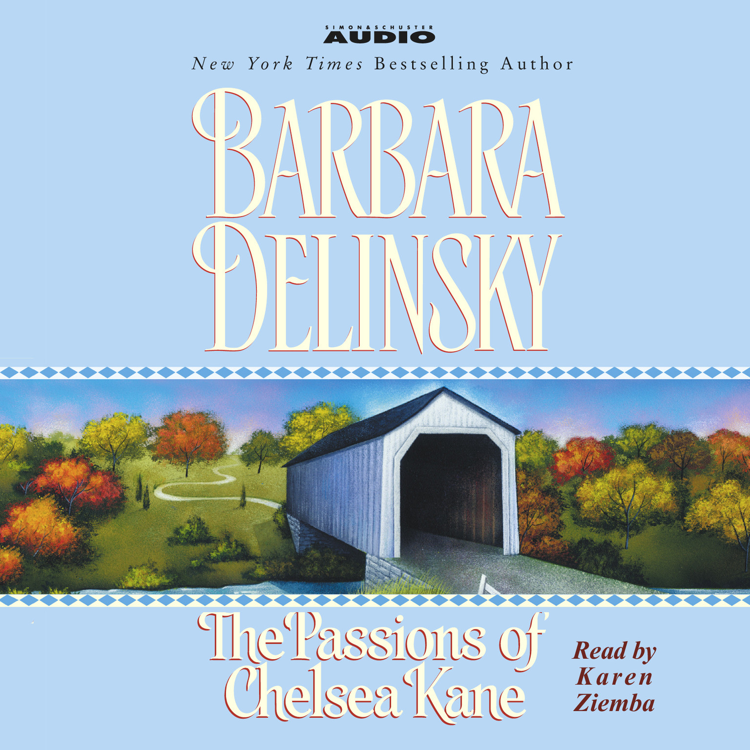 Printable The Passions of Chelsea Kane Audiobook Cover Art