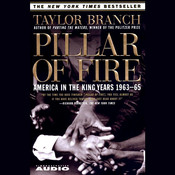 Pillar of Fire: America in the King Years, 1963–65 Audiobook, by Taylor Branch