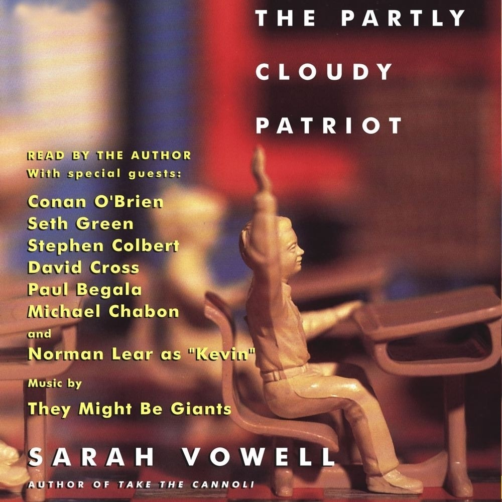 Printable The Partly Cloudy Patriot Audiobook Cover Art