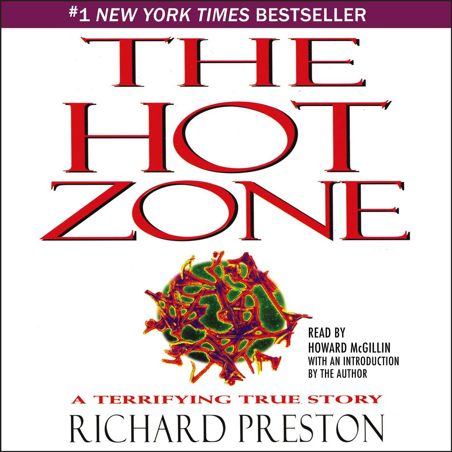 Printable The Hot Zone: A Terrifying True Story Audiobook Cover Art