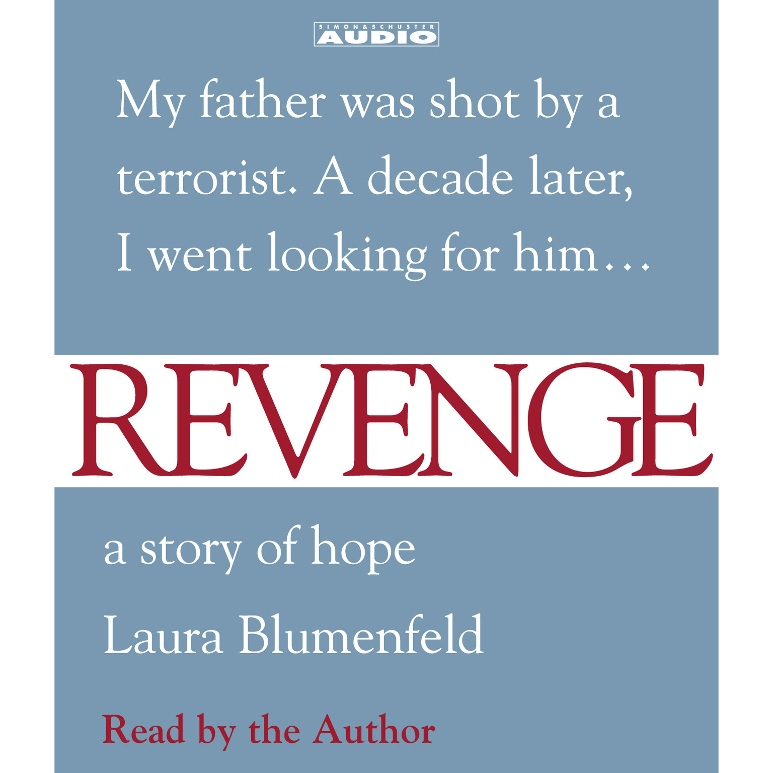 Printable Revenge: A Story of Hope Audiobook Cover Art