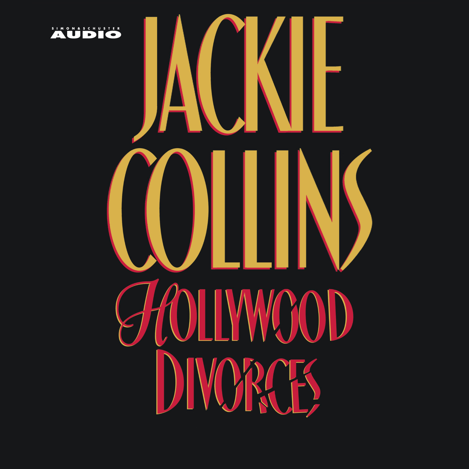 Printable Hollywood Divorces Audiobook Cover Art