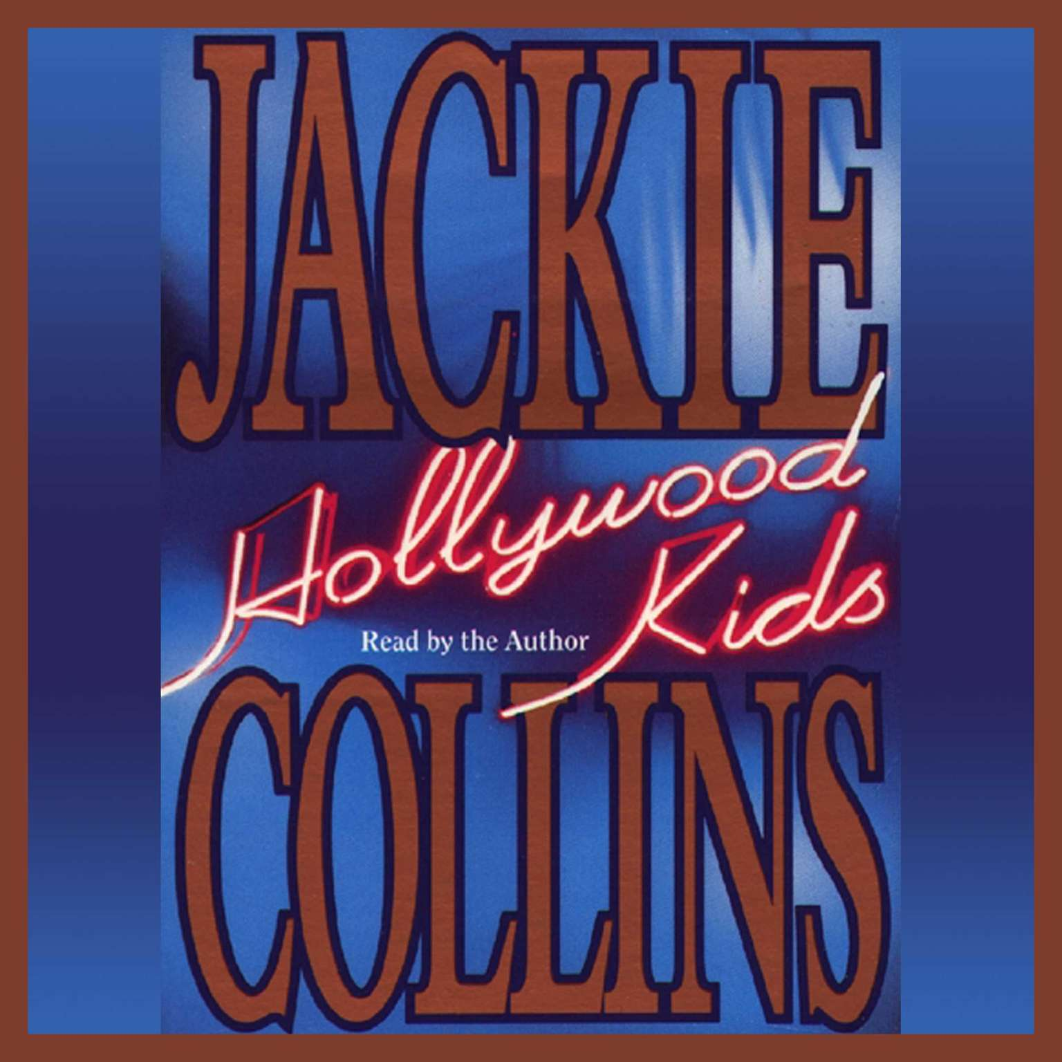 Printable Hollywood Kids Audiobook Cover Art