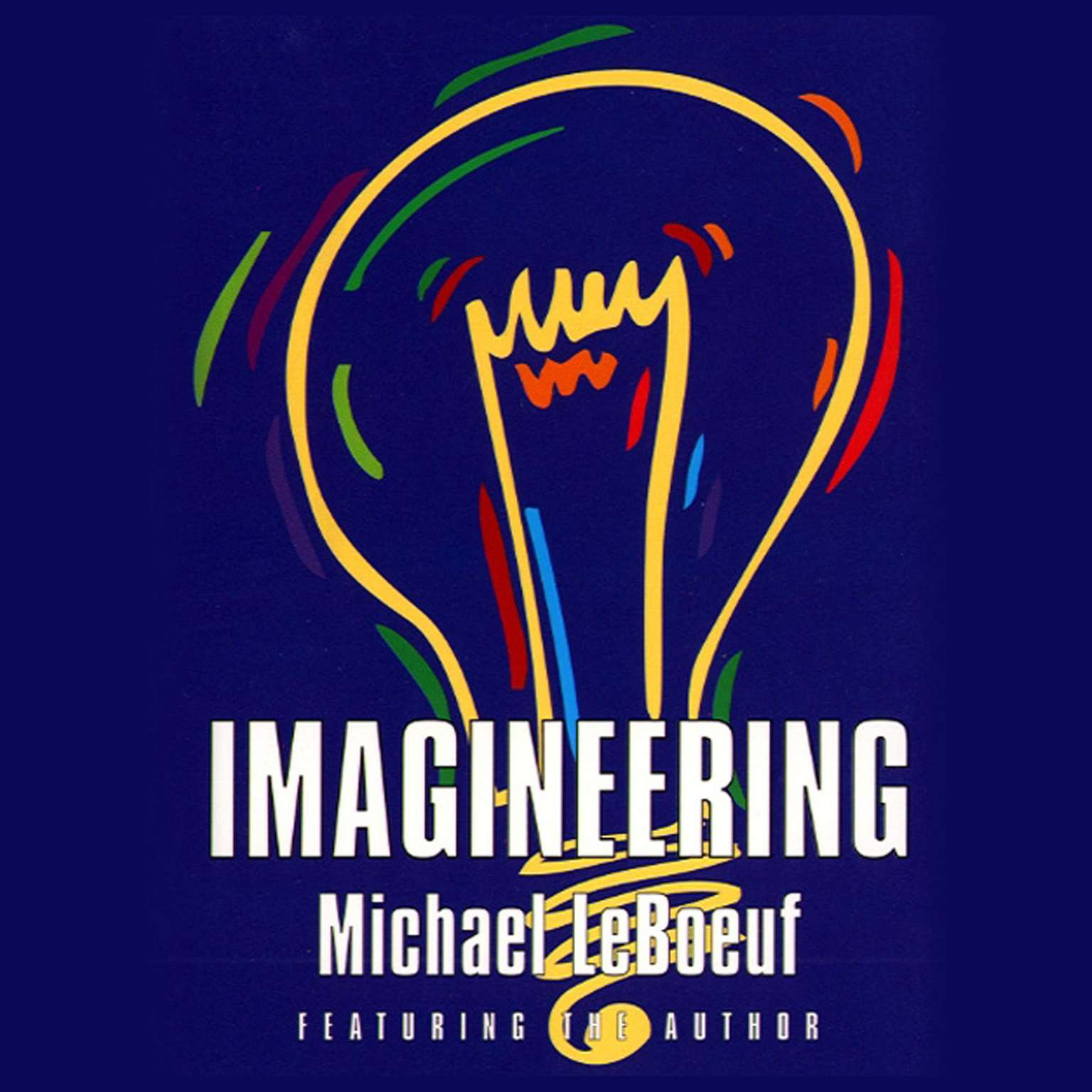 Printable Imagineering Audiobook Cover Art