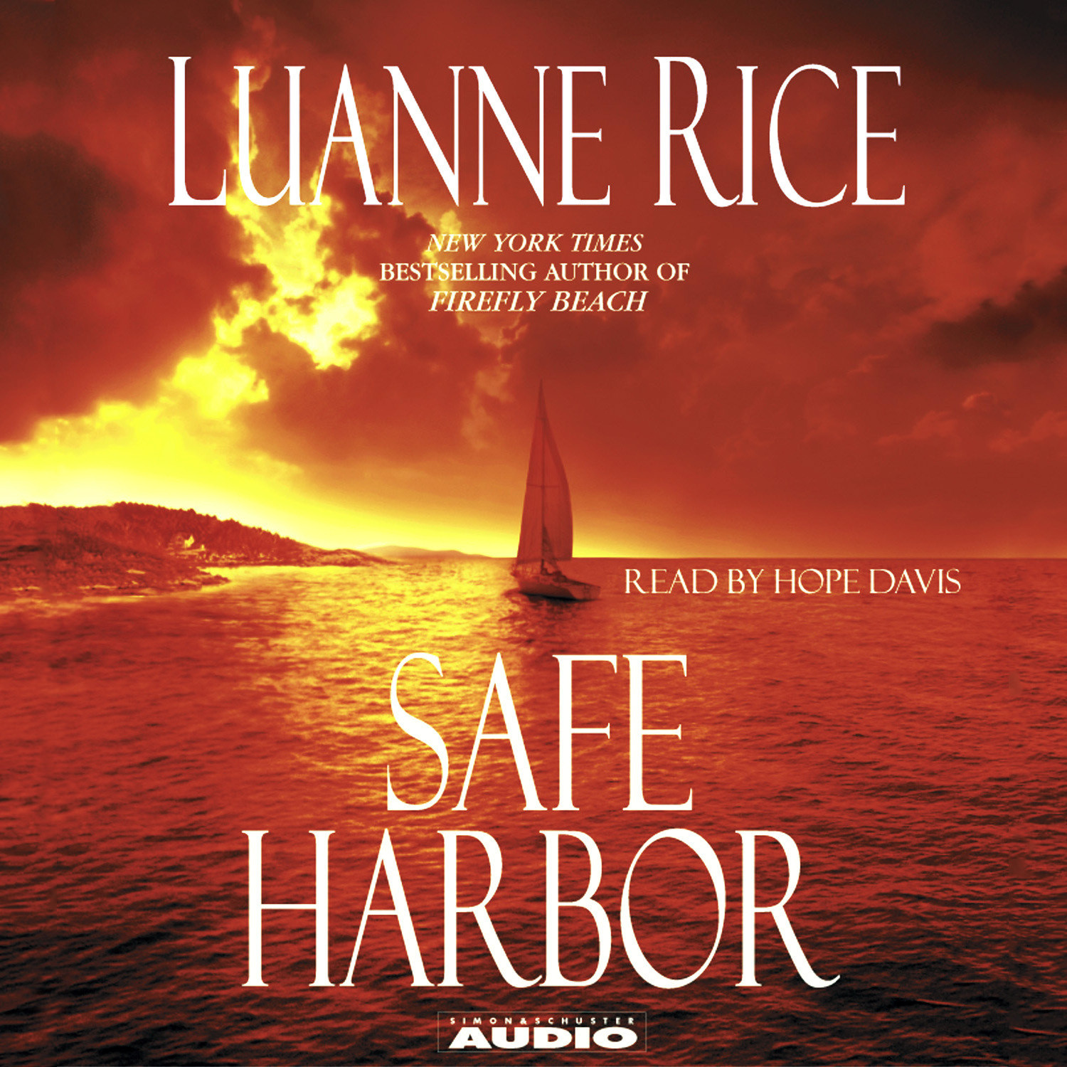 Printable Safe Harbor Audiobook Cover Art