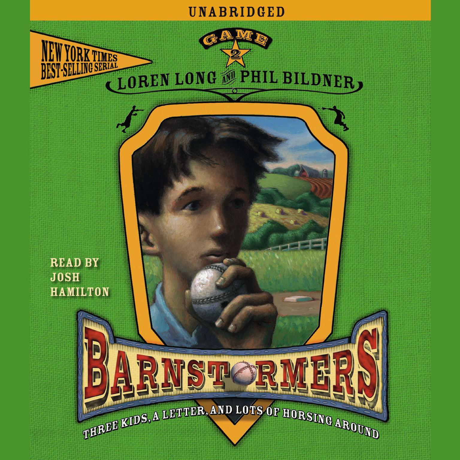 Printable Game 2: #2 in the Barnstormers Tales of the Travelin' Audiobook Cover Art