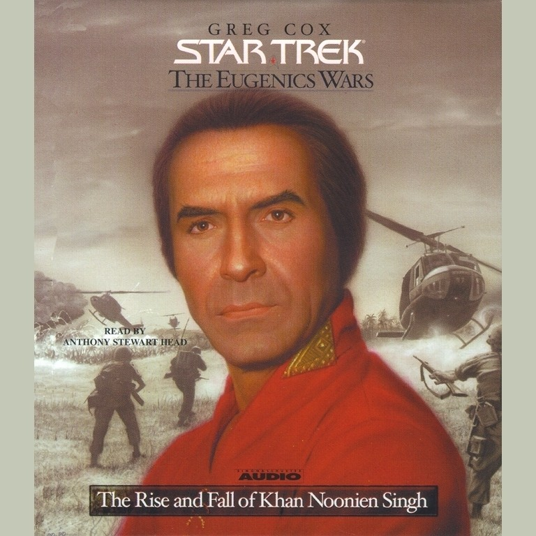 Printable Eugenics Wars, Vol. 1: The Rise and Fall of Khan Noonien Singh Audiobook Cover Art