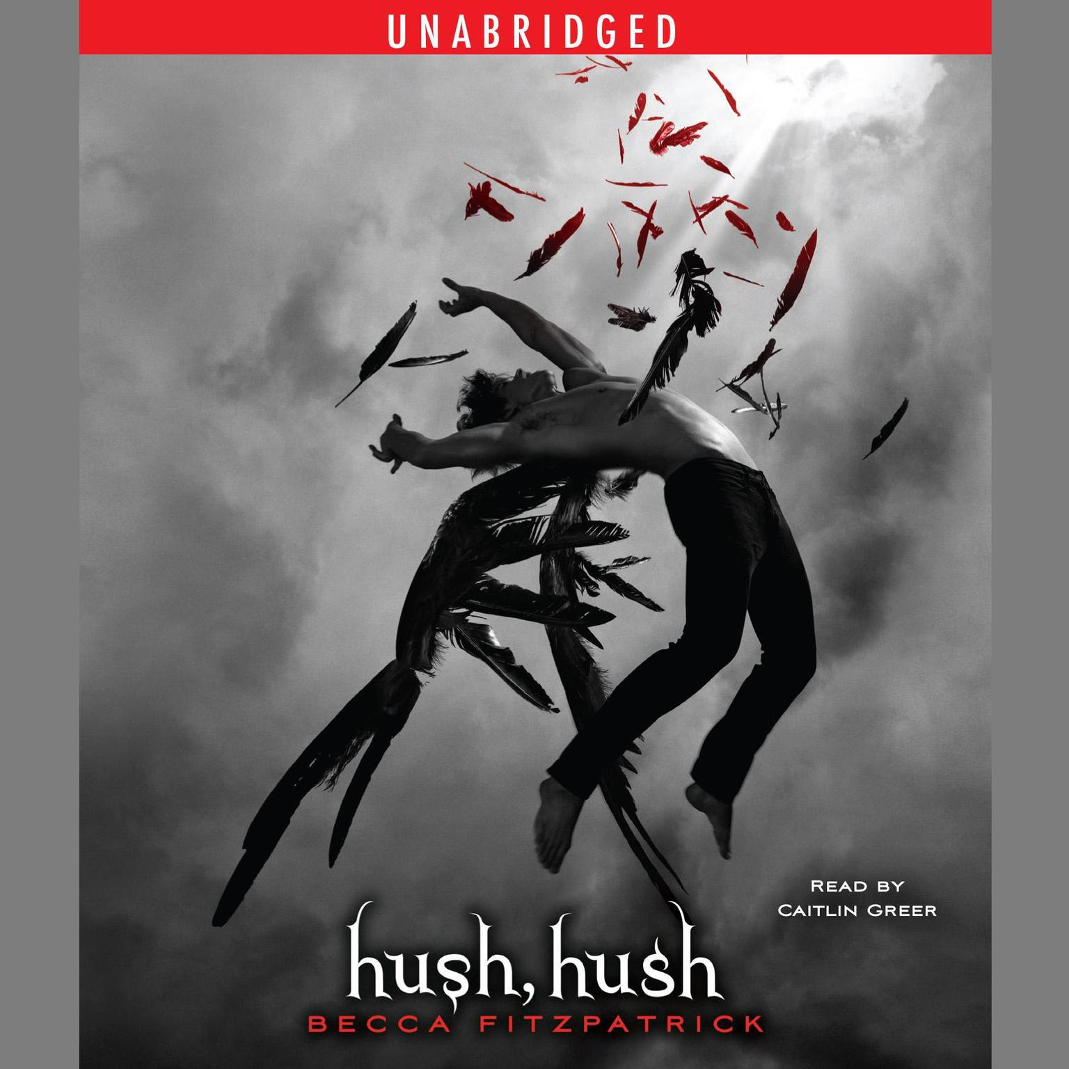 Printable Hush, Hush Audiobook Cover Art