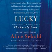 Lucky, by Alice Sebold