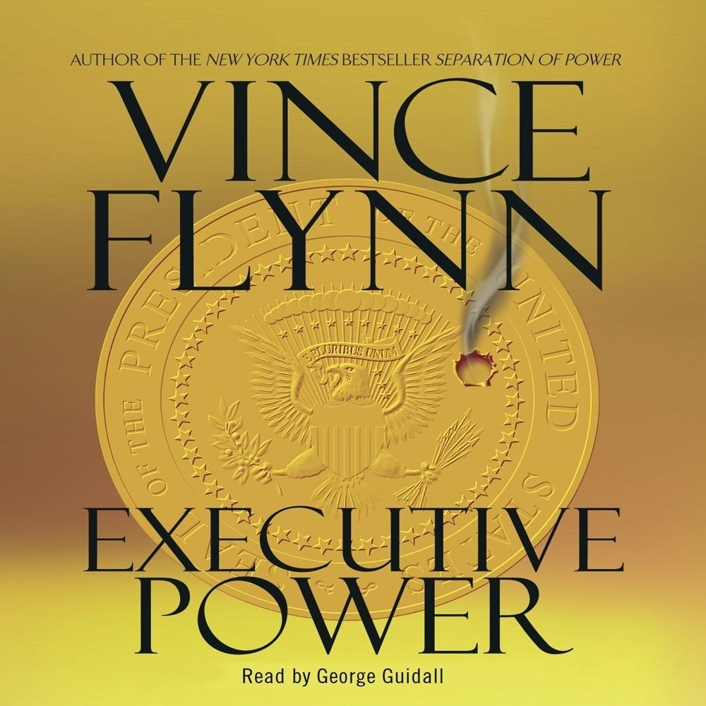Printable Executive Power Audiobook Cover Art