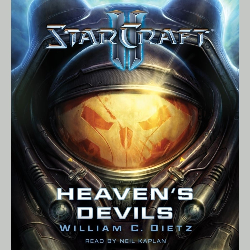 Printable Starcraft II: Heaven's Devils Audiobook Cover Art