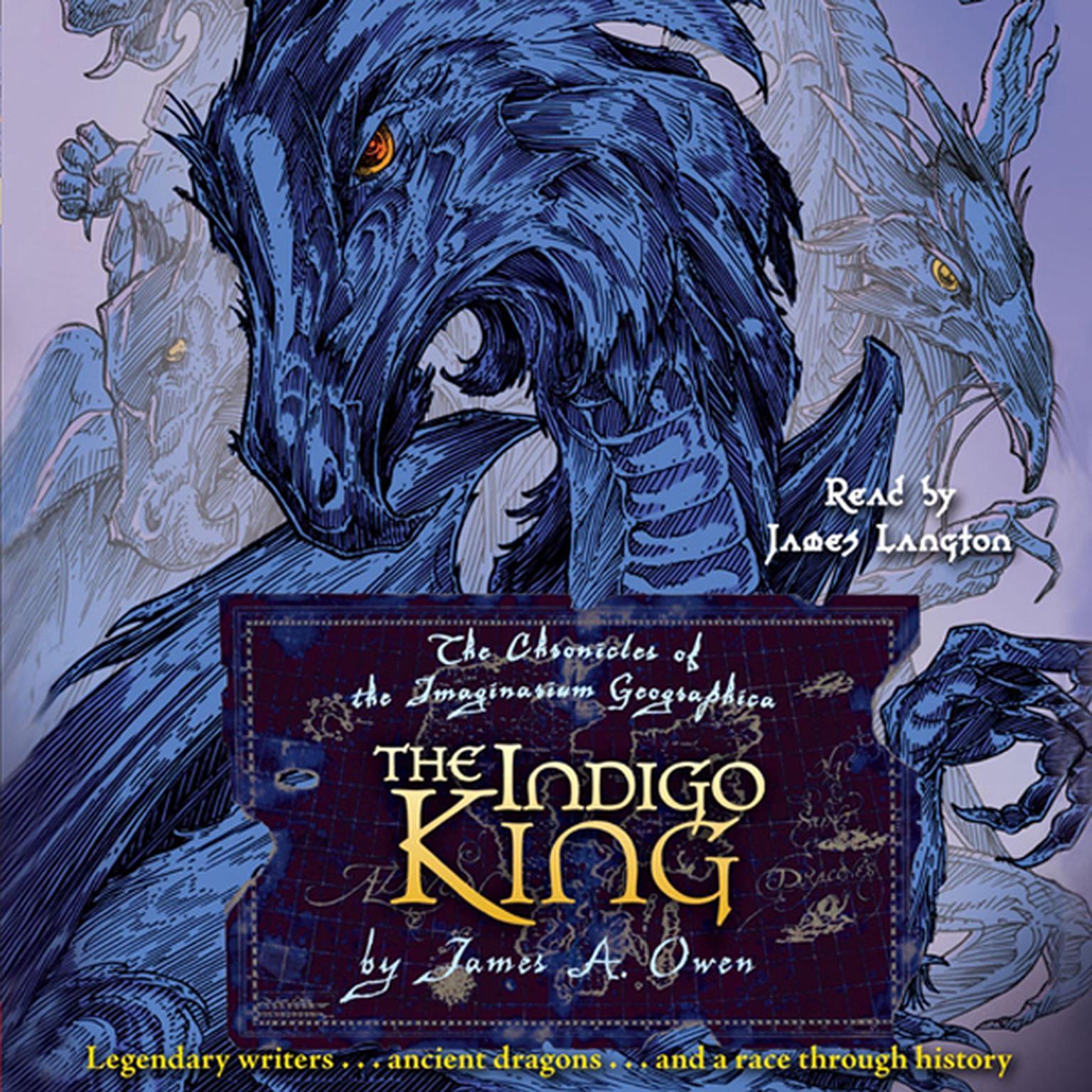 Printable The Indigo King Audiobook Cover Art