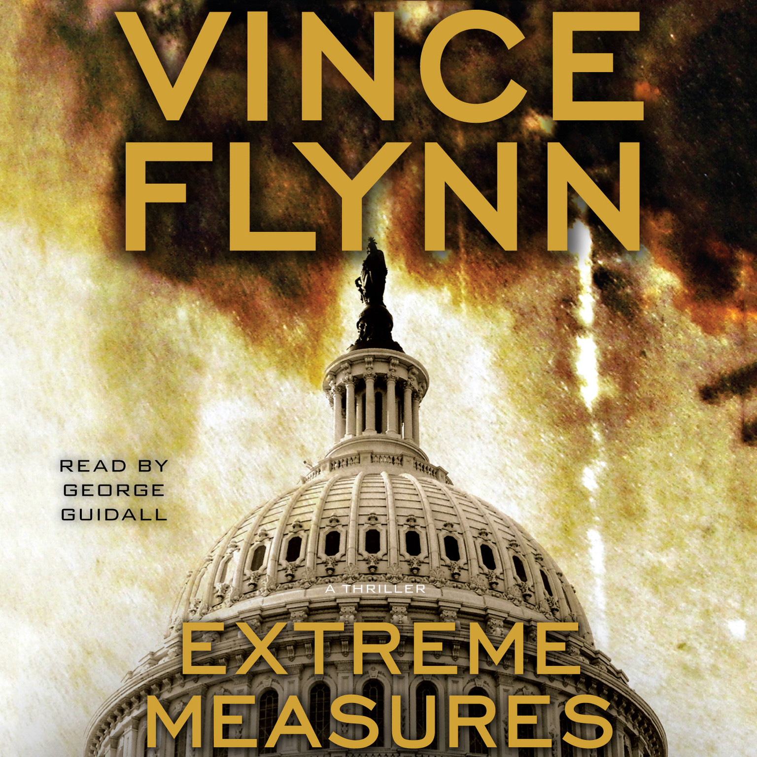 Printable Extreme Measures: A Thriller Audiobook Cover Art