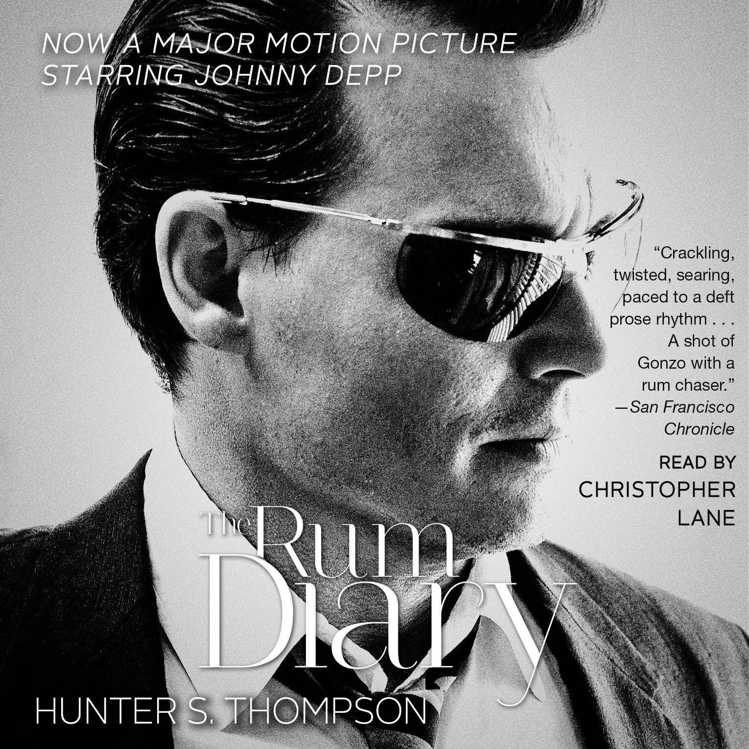 Printable The RUM DIARY: A Novel Audiobook Cover Art