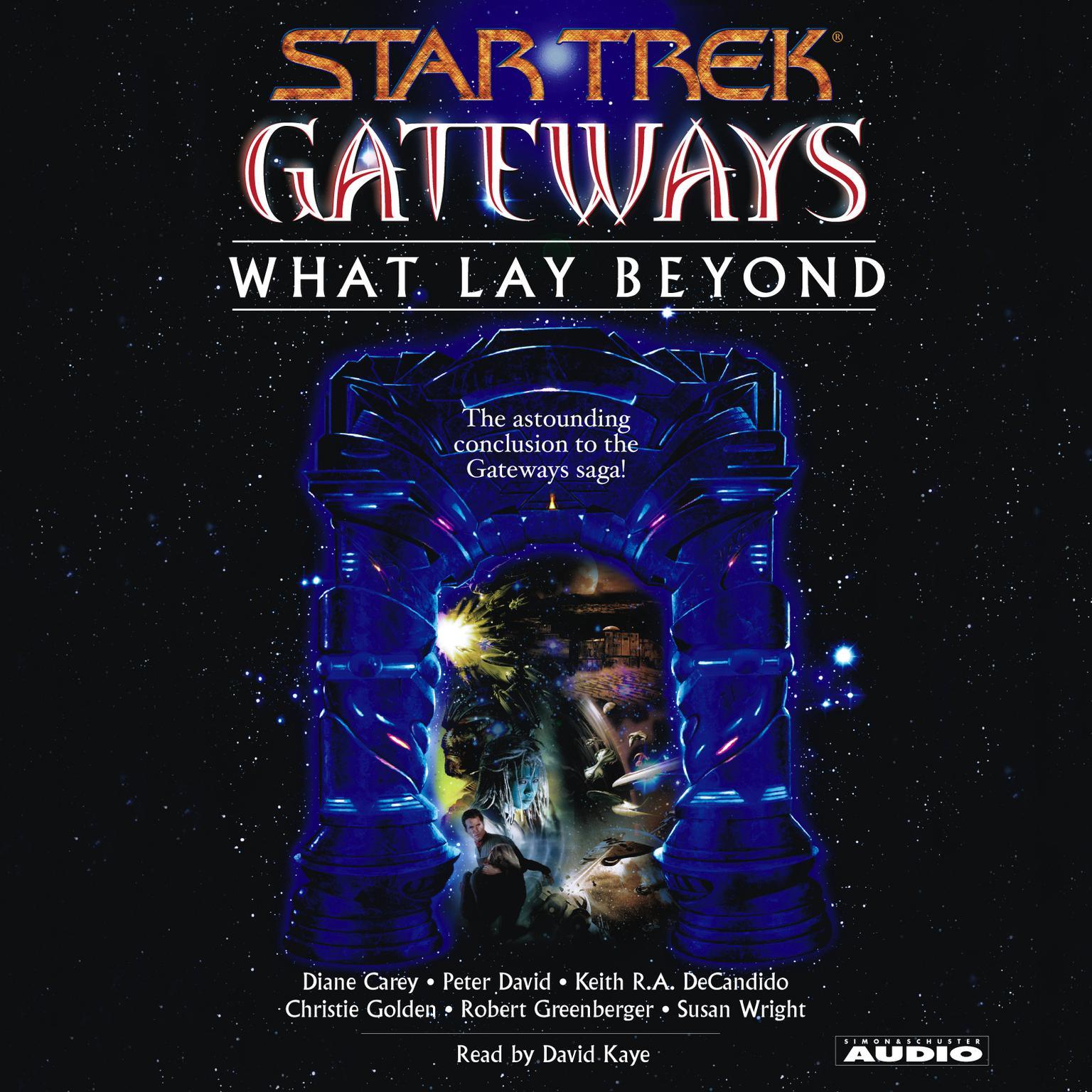 Printable Star Trek Gateways: What Lay Beyond Audiobook Cover Art