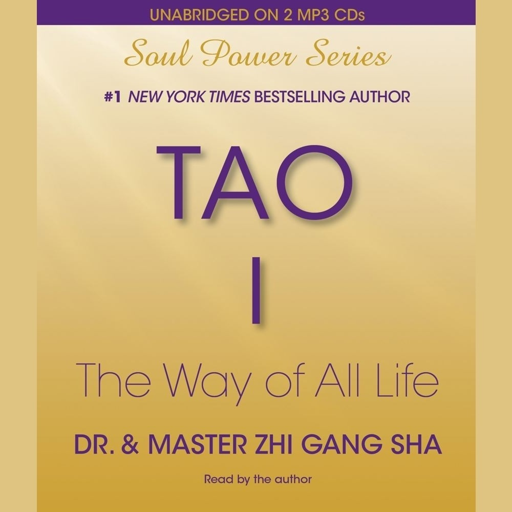 Printable Tao I: The Way of All Life Audiobook Cover Art